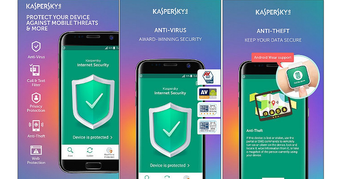Download Kaspersky Mobile Security for Android